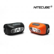 나이트큐브 NH-03 USB충전식 CREE LED 헤드랜턴(오렌지)