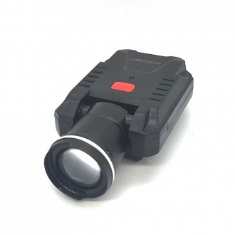 나이트큐브 NCL-4 충전식 줌 SMD LED 캡라이트 헤드랜턴
